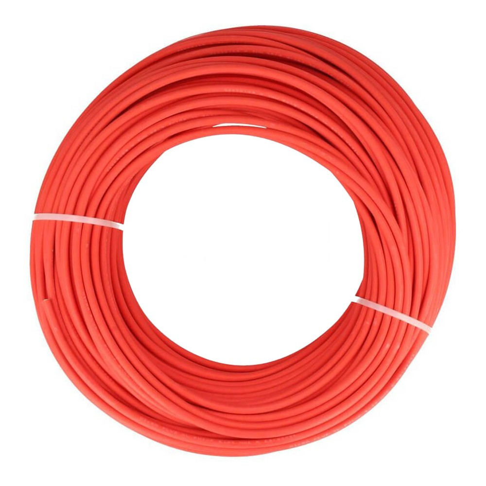 DC solar cable 10 m (4mm2) Rood -
