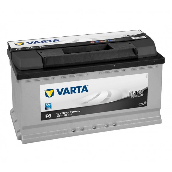 Varta black dynamic 90 ah start accu -