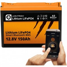 LIONTRON LiFePO4 12.8V 150Ah LX Smart BMS met Bluetooth -